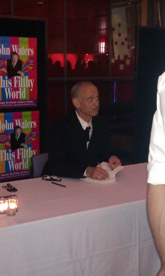 John Waters book signing